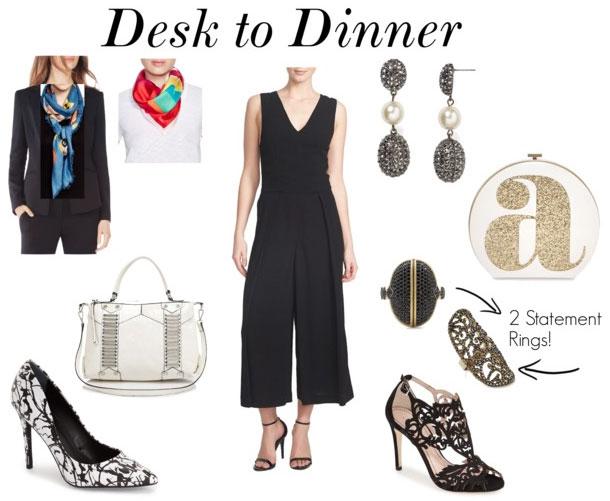 99f7f79af5a Desk To Dinner  The Versatile Black Jumpsuit - The A-List - Fashion ...