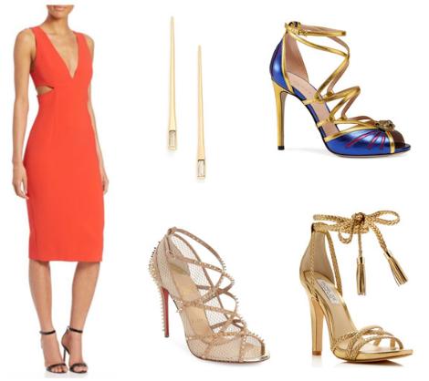 Orange-Cutaway-Dress