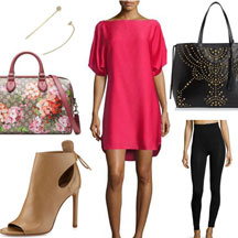 Pink-Dress-Nude-Bootie-Floral-Handbag-copy
