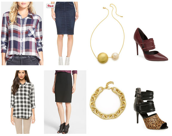 What-to-wear-to-work-plaid-pencil