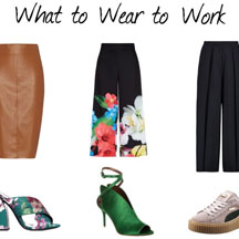 Stylish-Pants-Skirts-Shoes-for-Work