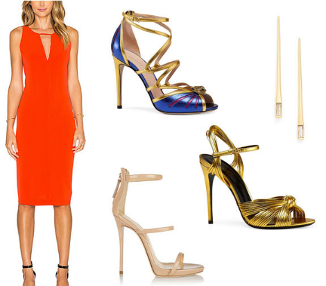2-Elegant-Orange-Dress